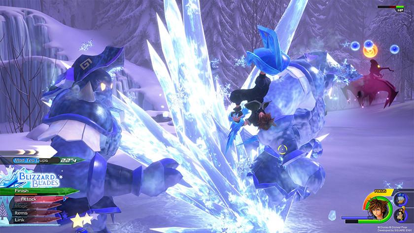 New magic in Kingdom Hearts 3