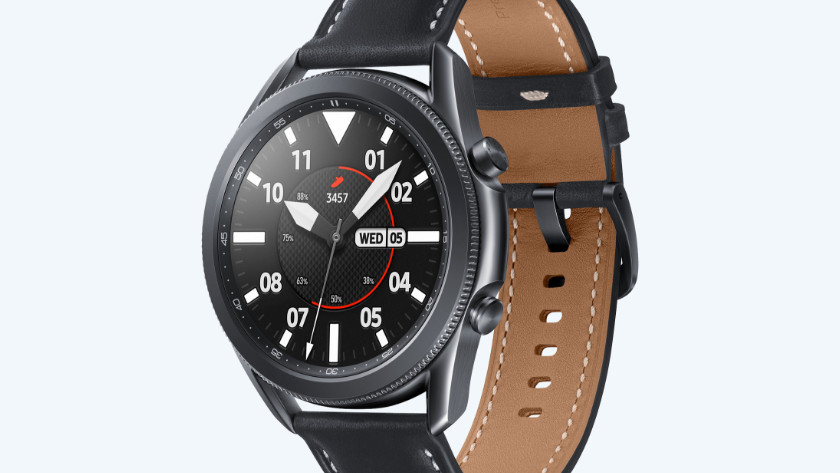 Samsung Galaxy Watch3 zwart ontwerp