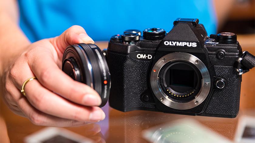 Lensvatting Olympus systeemcamera's