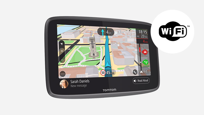 GPS voiture avec Wi-Fi