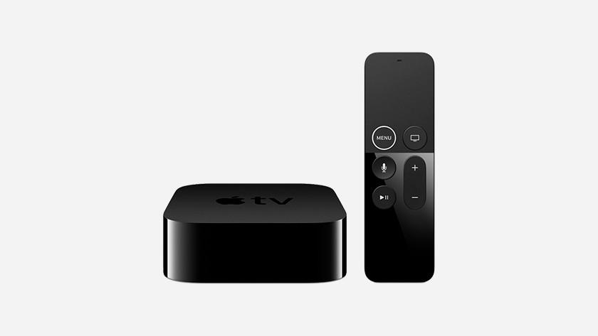 Apple TV met afstandsbediening