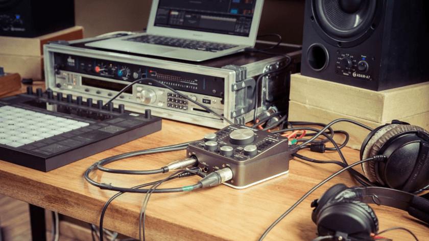 Entrées interface audio
