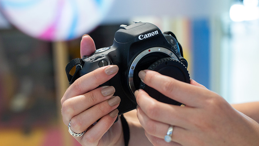 Getting started with a Canon camera