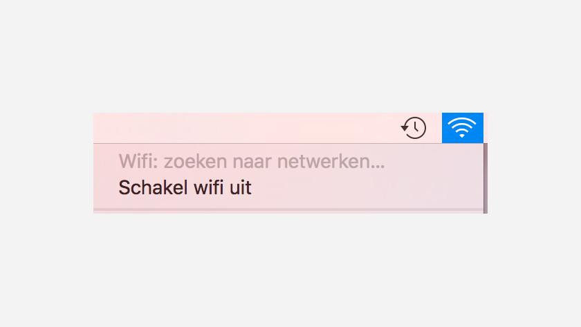 Désactiver le Wi-Fi Apple MacBook