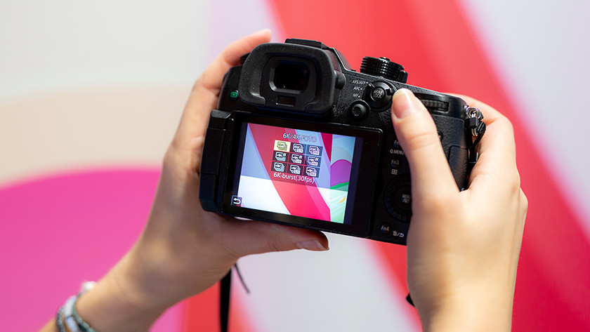 6K photo functie