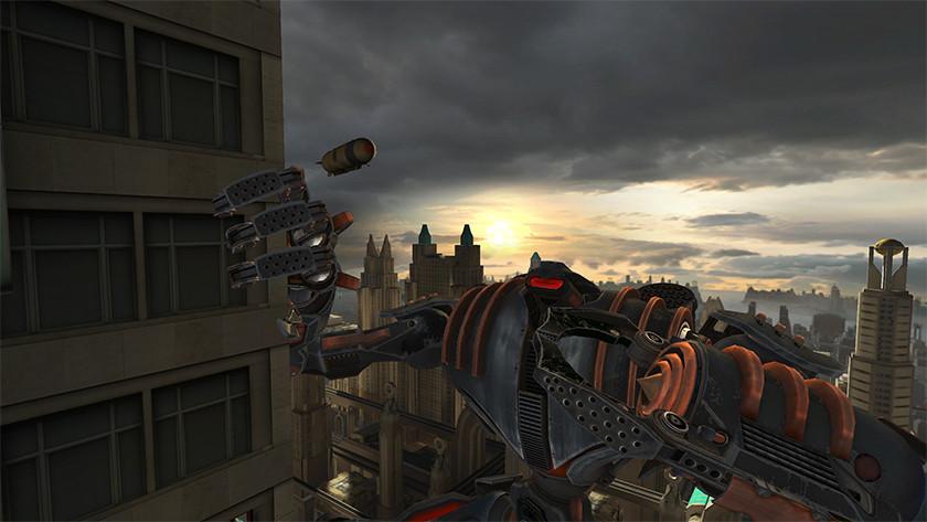 Robot in het spel Face your Fears