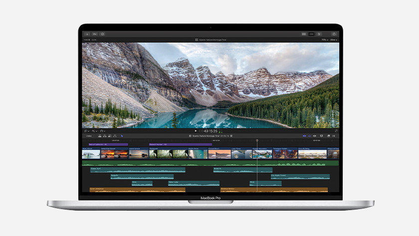 Apple MacBook Pro 16 inch gebruikssituatie