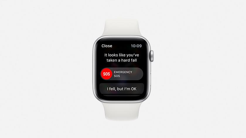Apple Watch Series 4 valdetectie