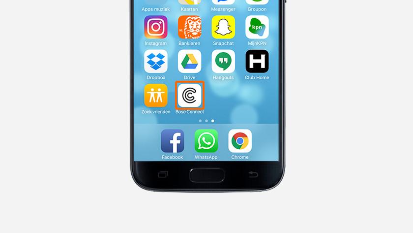 Stap 3: open de app