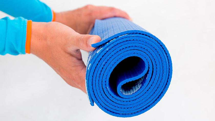 Oprollen yogamat
