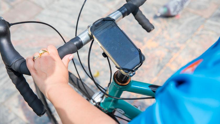 Telefoonhouder fiets