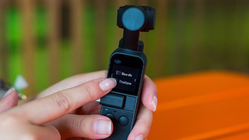 Videofuncties DJI Osmo Pocket