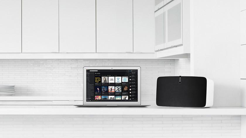 Enceinte Sonos à la maison