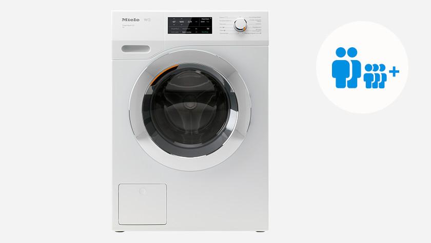Wasmachine voor een gezin met 3 kinderen of meer