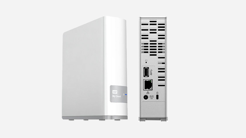 NAS with 1 hard drive