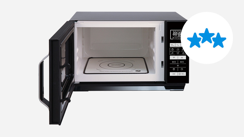Build quality of a microwave