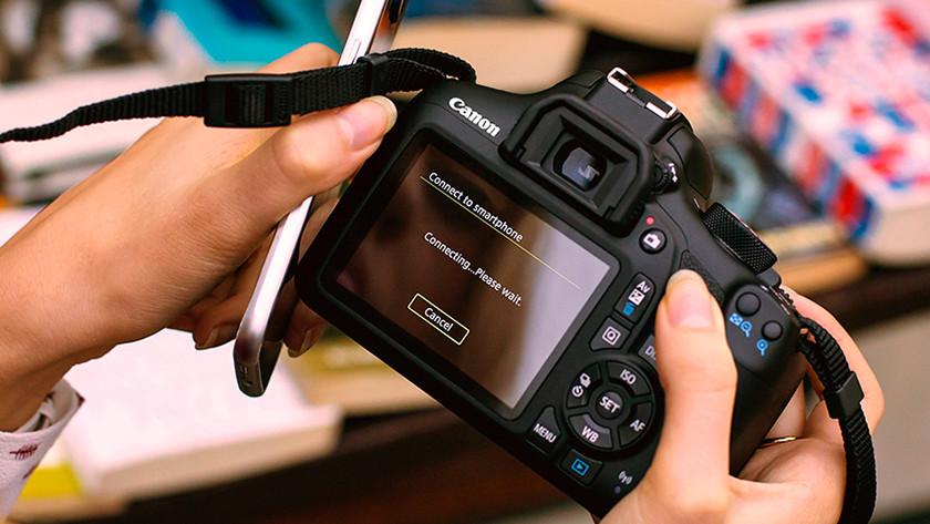 Wi-Fi et fonction NFC du Canon EOS 1300D