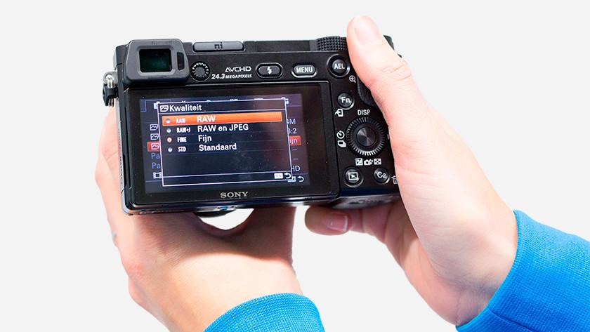 Qualité de l'image de l'A6000