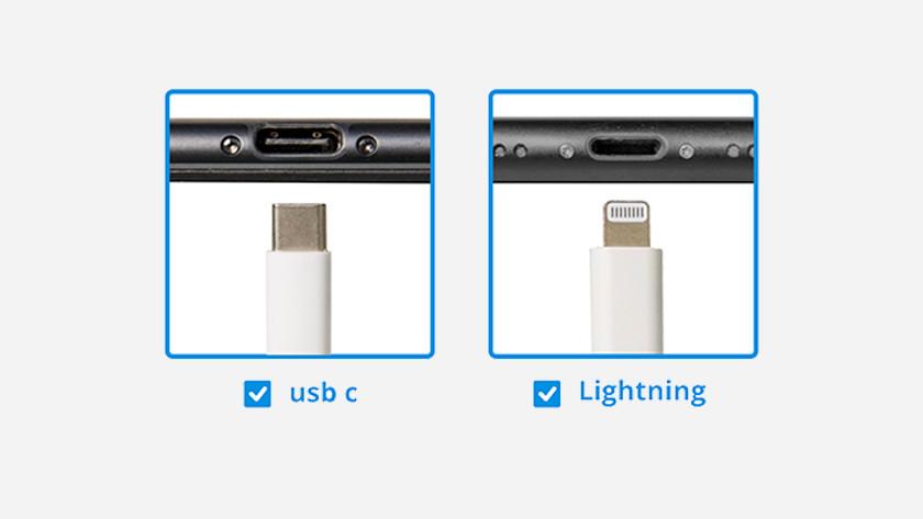 Lightning USB C