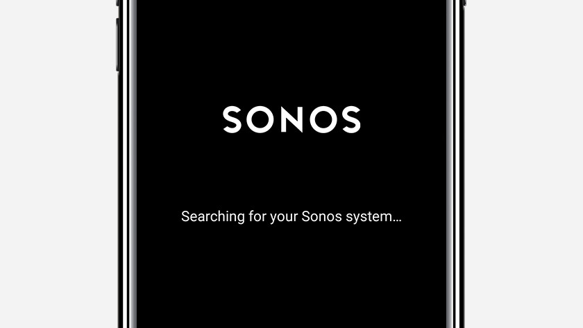 Step 1: open the Sonos controller app