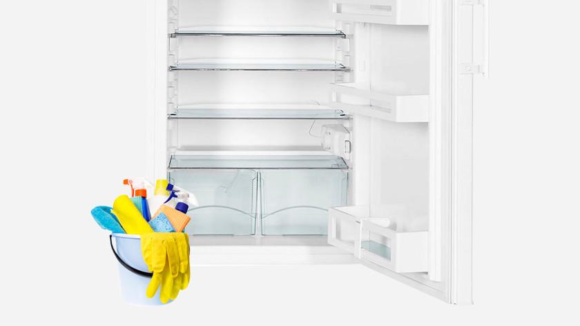 Schoonmaken koelkasten