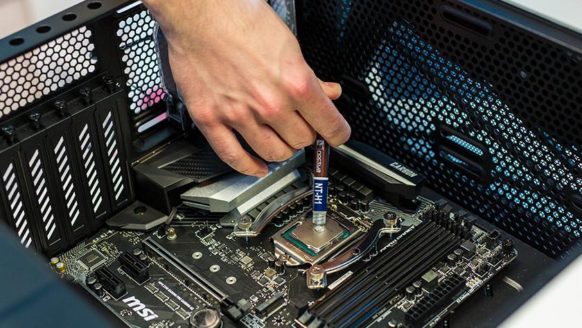 Thermal paste processor PC