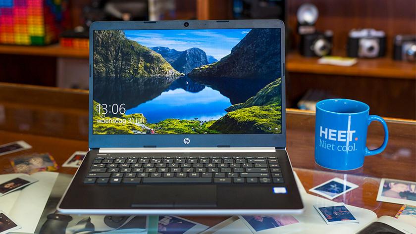 De HP 14-cf laptop