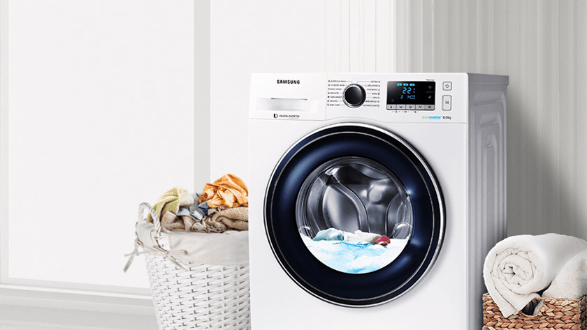 Capacité de lavage machine à laver