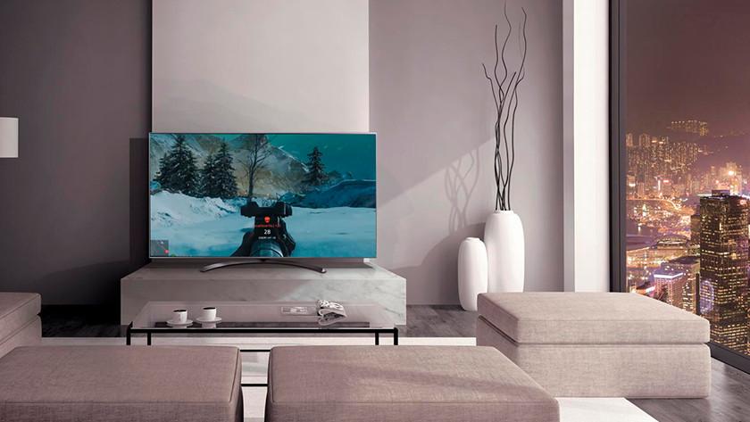 LG tv gamen