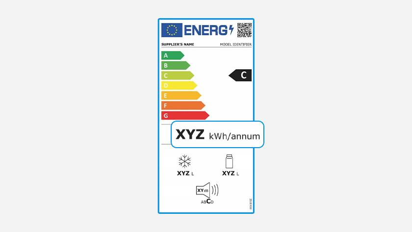 Label énergétique congélateurs