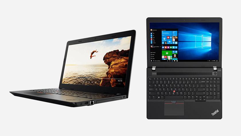 Lenovo ThinkPad laptop.