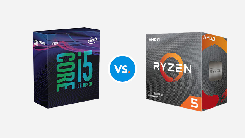 AMD Ryzen 5 CPU vs Intel Core i5 processor