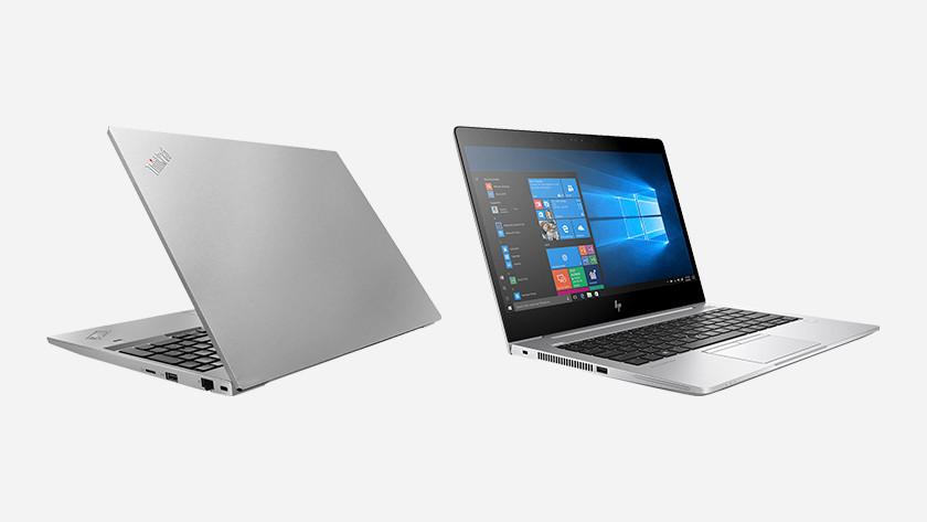 Lenovo en HP laptop.