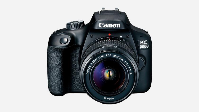 Fysieke kenmerken Canon EOS 4000D