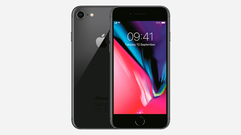 Processor en batterij iPhone 8
