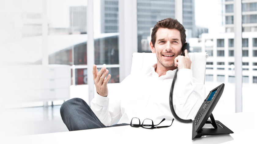 Business telephony VoIP