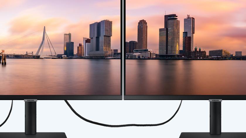 Daisy chaining van 2 monitoren via DisplayPort