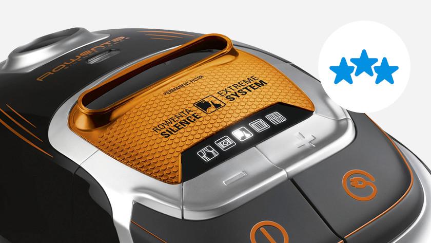 top-notch build quality vacuums