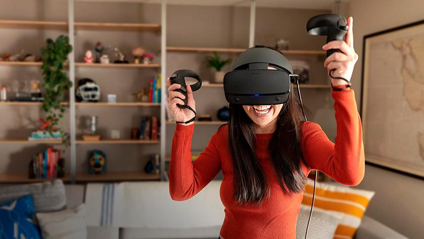 Afbakenen speelgebied VR