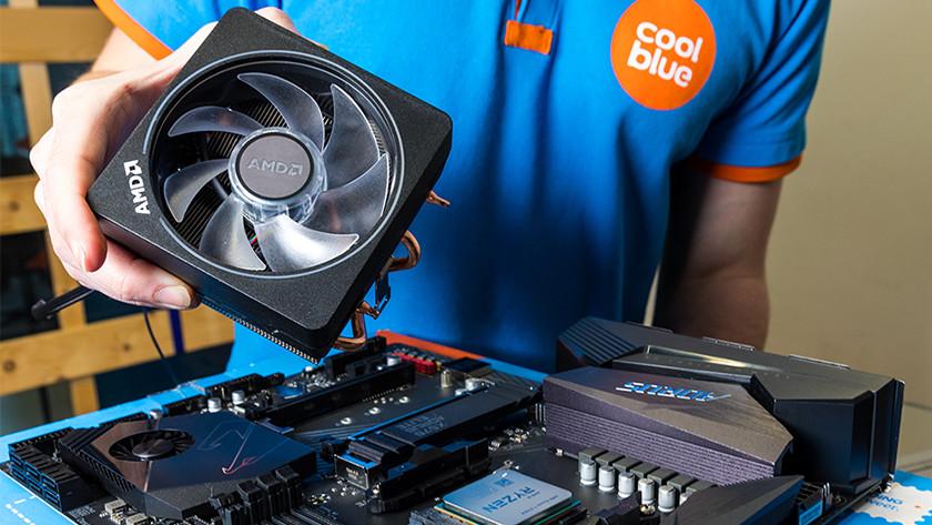 Processorkoeler is belangrijk voor goede koeling