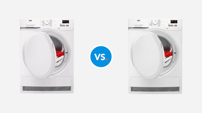 AEG 6000 vs. 7000 tumble dryer series