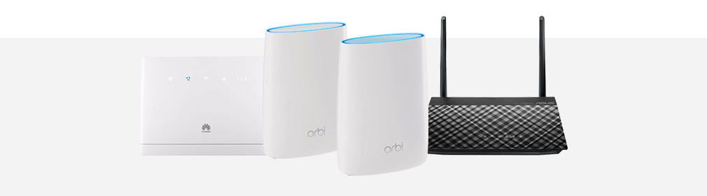 Advies over routers Header