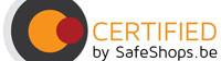 Certifié par Safeshops.be