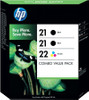 HP 21/22 Value Pack 4 Couleurs (SD400AE)