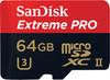 SanDisk microSDXC Extreme PRO 64GB 275MB/s UHS-II