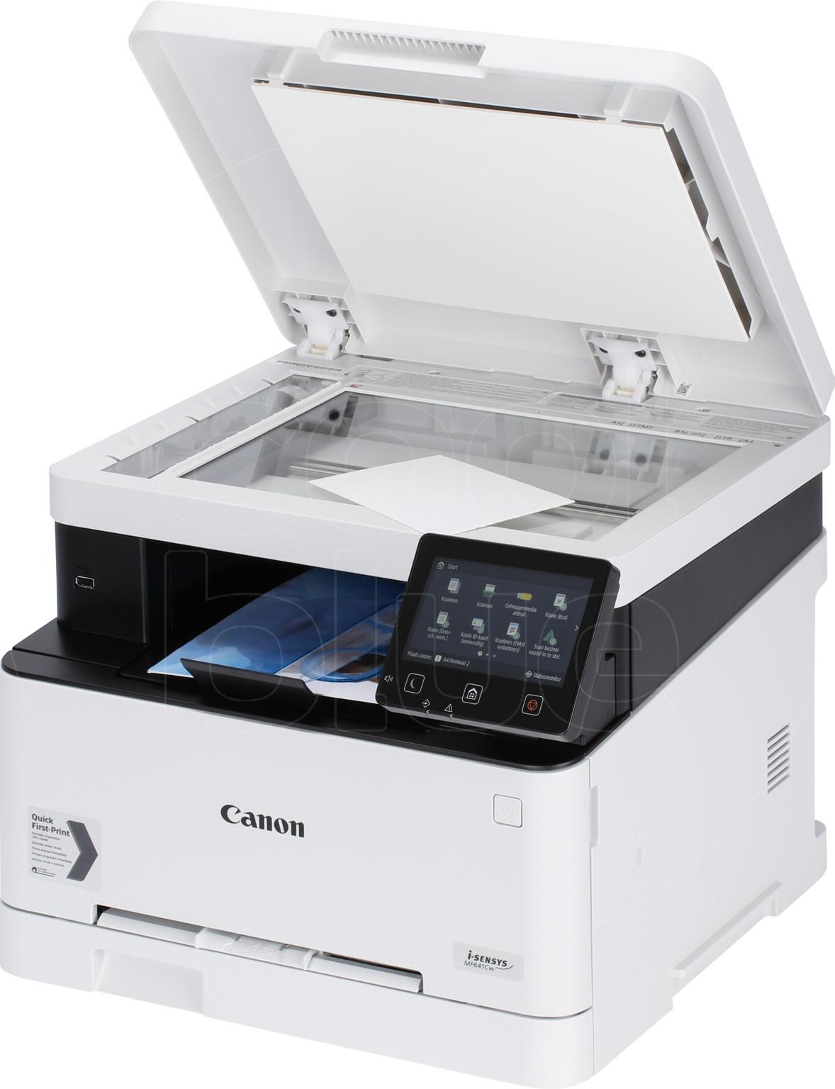 Canon i-Sensys MF641Cw produit à l'usage