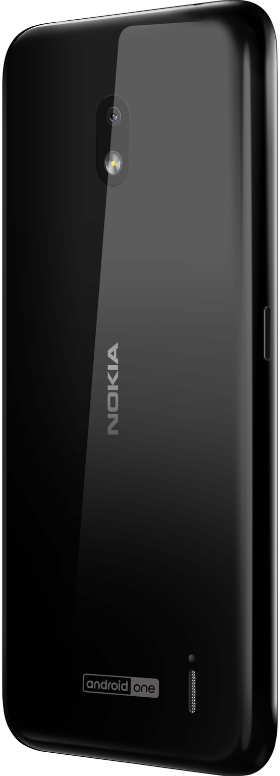 Nokia 2.2 Zwart achterkant