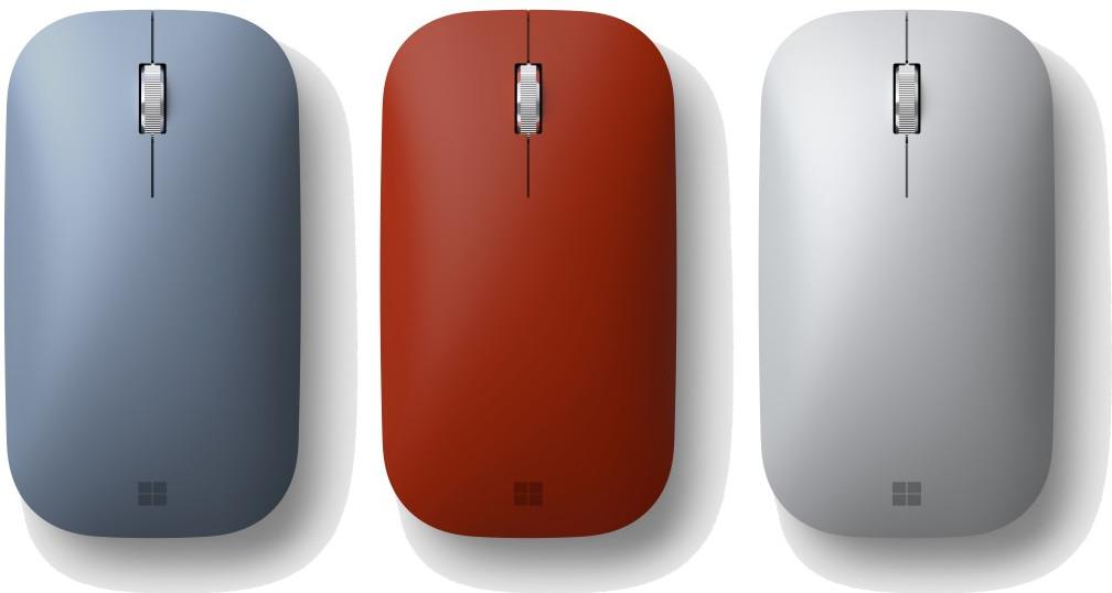 مايكروسوفت سيرفيس موبايل ماوس بلوتوث الأحمر المنتج المشترك