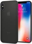 Spigen Air Skin Coque arrière Apple iPhone X Noir
