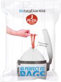 Brabantia Perfectfit Code J - 20-25 Liter (40 pieces)